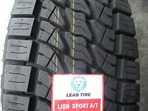 4 New LT 245/75R16 Lion Sport Tires 75 16 R16 2457516 E 10 Ply AT All Terrain