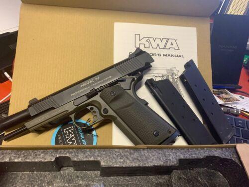 KWA Full Metal M1911 MK IV NS2 Gas Blowback Airsoft Pistol