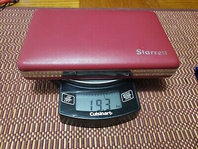 Starrett No. 823 - Inside Micrometer 1 12 To 12 With Case.