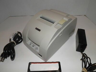 Epson Tm-u220b M188b Kitchen Bar Pos Receipt Printer Parallel W Ac Adapter