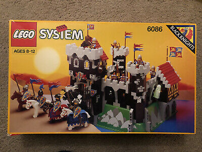 LEGO 6086 BLACK KNIGHT'S CASTLE - 100% COMPLETE + BOX + INSTRUCTIONS