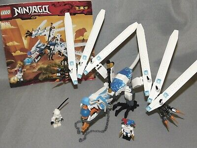 Lego Ninjago Set 2260 Ice Dragon Attack with Minifigures & Instructions