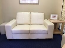 Leather couch with ottomans (as new) Joondalup Joondalup Area Preview