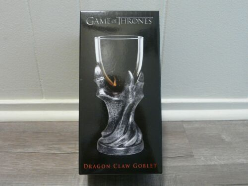 Game of Thrones Dragon Claw Goblet New/Sealed Daenerys Jon Snow Glass Cup**Decor