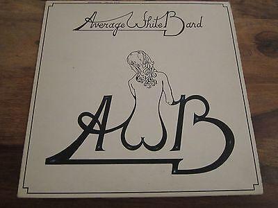 AVERAGE WHITE BAND - AWB - ORIGINAL 1974 UK PRESSING - LP IN VERY GOOD + CON