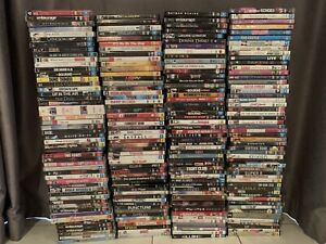 Bulk DVDs and Blu Rays — over 370 in total!!!!