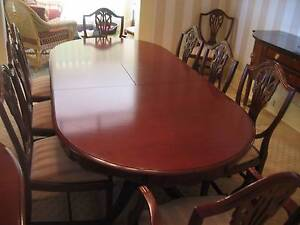 Dining Table and Chairs Yowie Bay Sutherland Area Preview