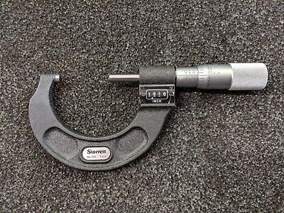 Starrett 216p-2 Digital Micrometer 1-2 In Stock