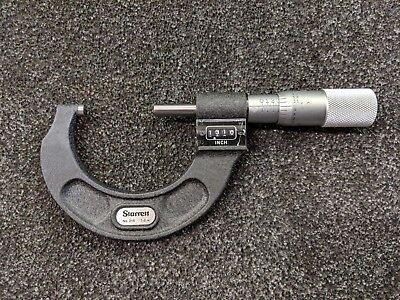 Starrett 216p-2 Digital Micrometer 1-2