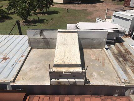Slip on concreter box