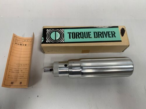 TOHNICHi 100LTDH Torque Driver Tool Made In Japan Gently Used (A20)