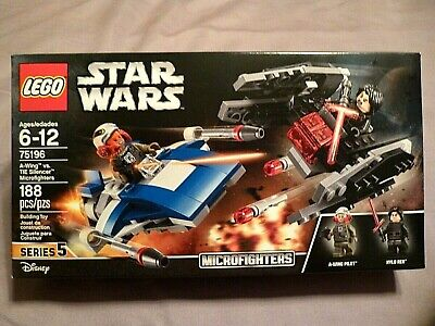 LEGO Star Wars 75196 A-Wing vs TIE Silencer Microfighters Series 5 Tallie Lintra