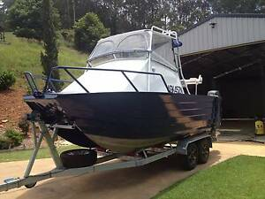 twin hull fishing boat Coffs Harbour Coffs Harbour City Preview