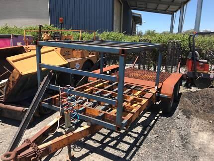 tandem plant trailer Deception Bay Caboolture Area Preview