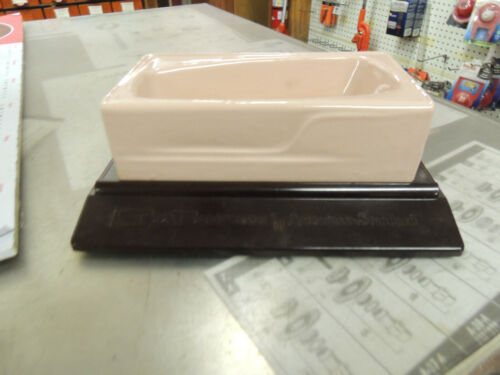 AMERICAN STANDARD MINI CAST IRON BATH TUB SALESMAN PROMOTIONAL MINIATURE ITEM