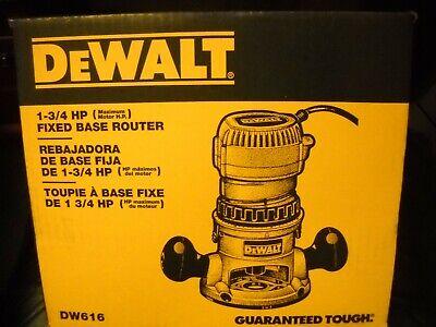 DeWALT DW616 1-3/4 HP Fixed Base Woodworking Router NEW segunda mano  Embacar hacia Mexico