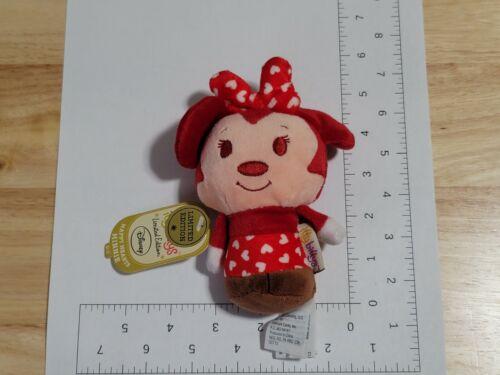 2014 Hallmark Itty Bittys Disney Happy Hearts Minnie Limited Edition Plush NWT
