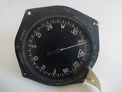 Radio Compass ref 10Q/49 RAF (not USAF) Stradishall (Wellington) provenance 1967