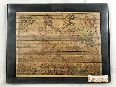 NOS Lillian Vernon Antique Colored Pencil Map Puzzle Unused (Map Color Pencils)