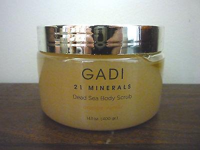 NEW GADI 21 Minerals Dead Sea Body Scrub - orange vanilla - 400gr