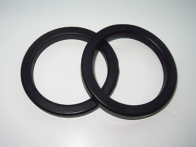 Two E61 Faema Brasilia Pavoni Wega Espresso Machine Group Portafilter Gaskets