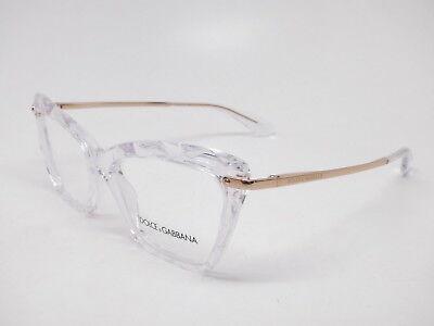 Authentic Dolce & Gabbana DG 5025 3133 Crystal Eyeglasses (Dolce Gabbana Glasses For Men)