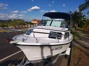 19ft Cruise Craft 1/2 cab 115 2Stroke Yamaha only 30 hrs Erskine Park Penrith Area Preview