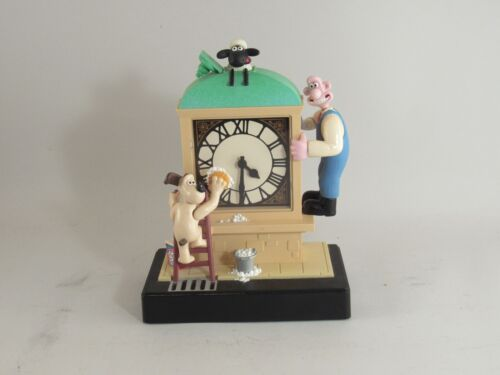 Vintage Wallace & Gromit Animated Alarm Clock Wesco 1998