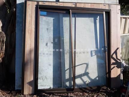 glass sliding doors3 x windows & Wrecking Caravan Door \u0026 Windows | Caravan \u0026 Campervan Accessories ...