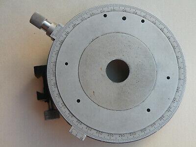 Circular Rotate Pol Stage Holder Polarizing Microscope Lomo Min
