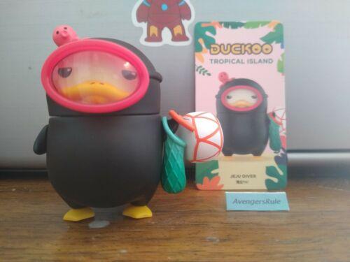 Pop Mart Duckoo Tropical Island Mini Figure Jeju Diver