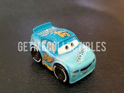 DISNEY PIXAR CARS MINI RACERS BUCK BEARINGLY VIEW ZEEN BOX #53 FREE SHIP $15+