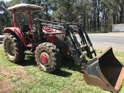 McCormick C Max 60 tractor with front end loader not Kubota John deere