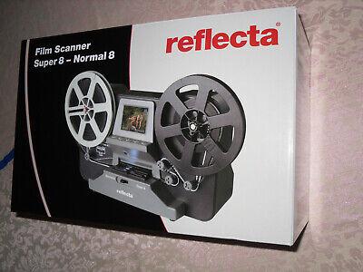 Filmscanner super 8, normal 8. Marke Reflecta. Neuwertig mit Garantie
