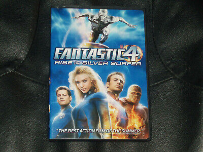 Fantastic 4 Rise of The Silver Surfer 2007 PG Widescreen Action DVD Jessica
