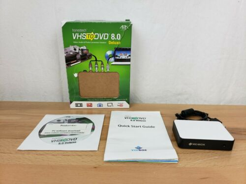 Vidbox by Honestech VHS to DVD 8.0 Deluxe Video, Audio, Photo Converter