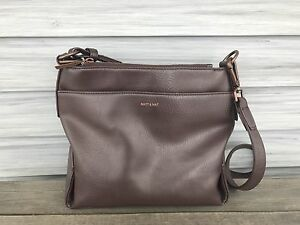 Rose gold & Cocoa Matt & Nat purse