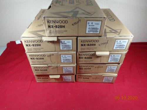 Kenwood nexedge NX-820H UHF Digital OEM original manufacture box  LOT 9