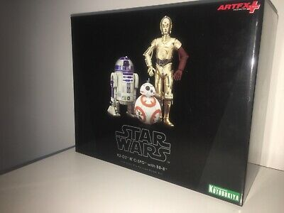 Kotobukiya ARTFX + STAR WARS R2-D2 & C-3PO with BB-8 1/10 scale figure
