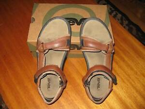 Teva Pretty Rugged Leather Women's Shoes Size 8 Prospect Prospect Area Preview