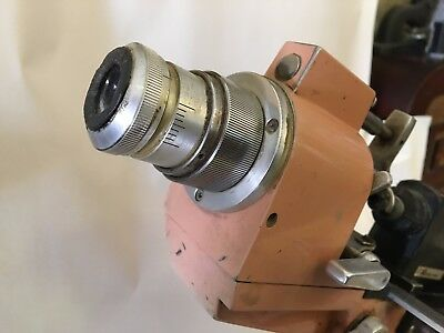 American Optical Lensometer In Vintage Pink Retro Medical Industrial Decor