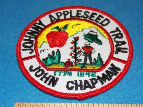 Boy Scout BSA Johnny Appleseed John Chapman 1774 1845 Ohio Indiana Trail Patch