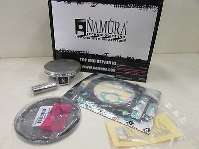 Used, KAWASAKI KX 250F NAMURA TOP END REBUILD PISTON KIT 76.97MM 2006-2008 for sale  Shipping to South Africa