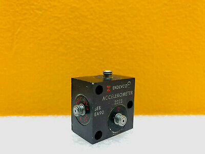 Endevco 2223 12 Pc G Sensitivity Triaxial Piezoelectric Accelerometer. Tested