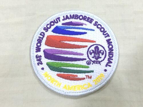 24th World Scout Jamboree 2019 Adult Volunteer (IST/White Border) Badge