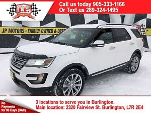 2016 Ford Explorer Limited, Navigation, 3rd Row Seating, 4WD