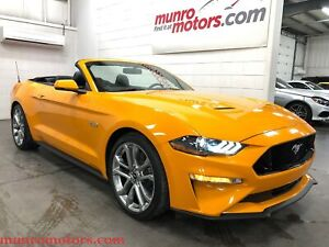 2018 Ford Mustang GT Premium Orange Fury NAV 10 Speed Auto
