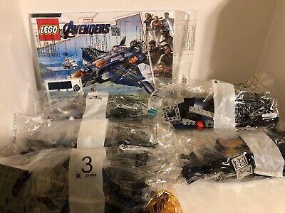 Lego Avengers Endgame 76126 Ultimate Quinjet No Minifigures/Box Never Assembled