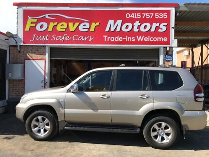 2004 Toyota LandCruiser PRADO SUV AUTOMATIC Long Jetty Wyong Area Preview
