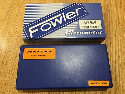 Fowler 1-2 Outside Micrometer 52-235-002-2